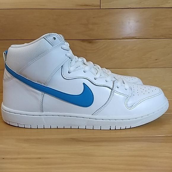 Nike Sb Dunk High Trd Qs Mulder White
